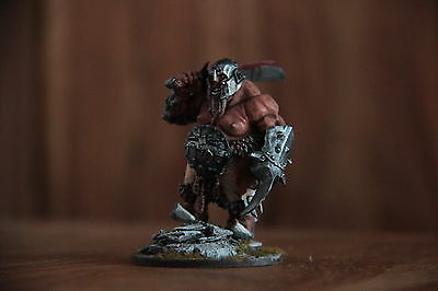 warhammer OGRE KINGDOM WARRIOR Painted 28mm. Ideal for AoS, AD&D.