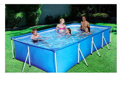 "Bestway Pool Family Ground Swim Swimming Square 118"" Kids Playing Outdoor Spa"