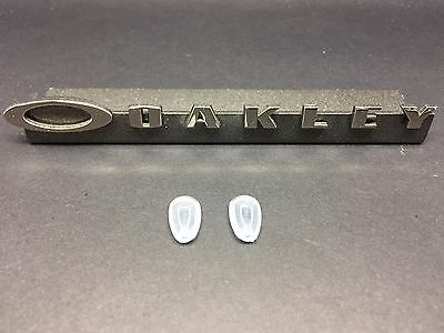 Oakley replacement Nose Pads for Titanium Crosshair sunglasses Brand new pair