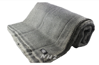 100% Natural Cashmere Blanket,Pure Himalayan Pashmina Throw, Hand Made in Nepal