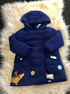 New Without Tags 2 sides Wearing Girl Winter Jacket Size 2T