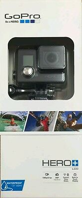 GoPro HERO+ LCD Action Camera Camcorder,1080p, Wi-Fi- Brand New & Sealed