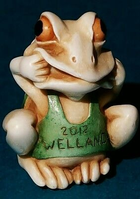 Harmony Kingdom Welland Frog Pendant RARE 100 Made Signed 2012 UK Launch Event