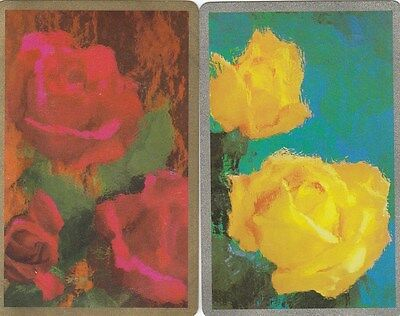 Vintage Swap / Playing Card - 2 Single - Roses C