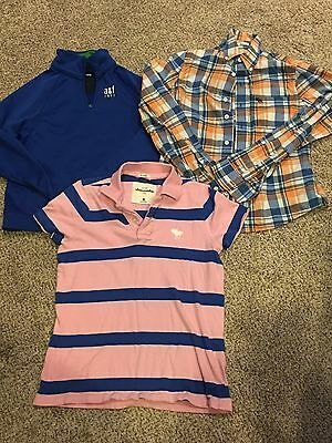 Youth Boys Lot Of Abercrombie Shirts