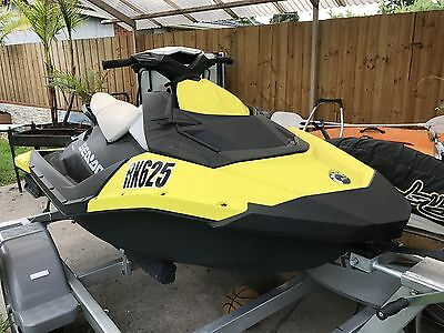 2014 Seadoo Spark 2UP with Trailer, Cover & Boarding Step