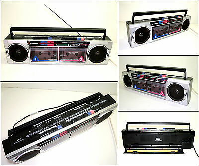 INTERNATIONAL AK21 Radio Double Cassette Boombox