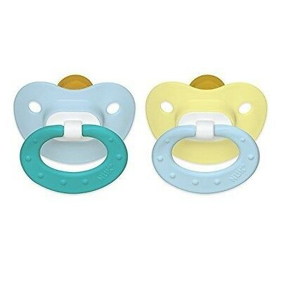 NUK Juicy Puller Latex Pacifier in Assorted Colors, 0-6 Months