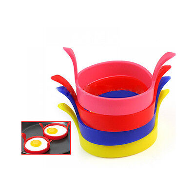 Poacher Tool Fried Ring Pancake Silicone Mold Egg Mould