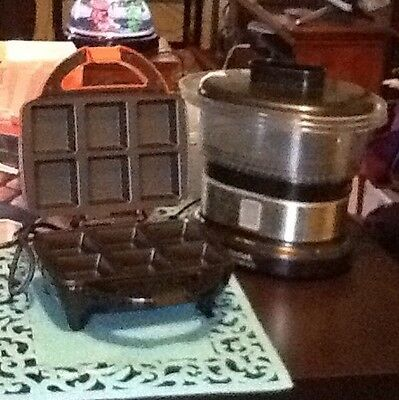 Steamer And Brownie Maker