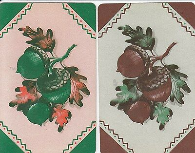 Vintage Swap / Playing Card - 2 Single -  Flowers 1C
