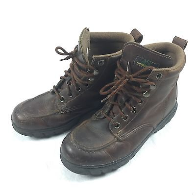 Timberland VINTAGE Hiking Boots Brown Leather Men's Sz 6M Mens