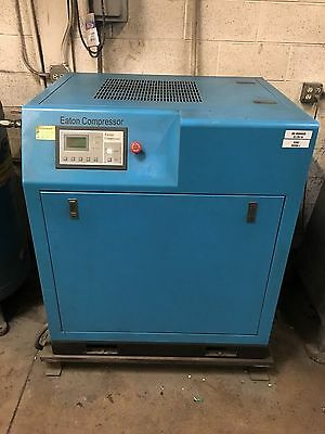 10 HP 3 Phase Rotary Screw Air Compressor by Eaton