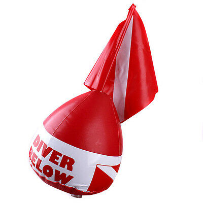 Buoy Inflatable Diver Down Flag Float Marker Scuba Diving Underwater