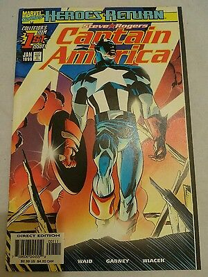 Captain America 1st Issue Highly Collectible Marvel Comic