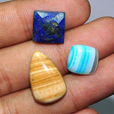 29.4Cts 100% NATURAL TOP MIX STONE   LOOSE CAB GEMSTONE UEM599