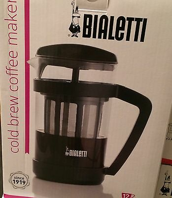 Bialetti Cold Brew 12 Cup Coffee Maker #06765 - New