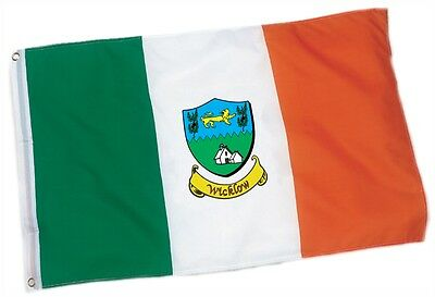 Wicklow County Coat of Arms Ireland Flag - 3'x5' foot