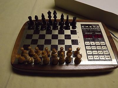 Fidelity Electronics Chess Challenger Game You Against The Computer Vintage Usa