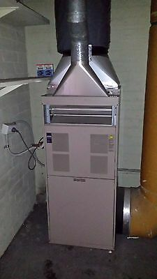 Ducted heating unit