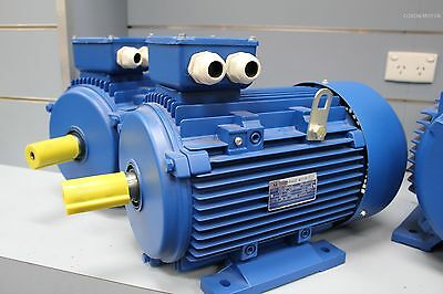 22kw 30HP 2800rpm shaft 48mm Induction Electric motor 3 phase 415v Compressor
