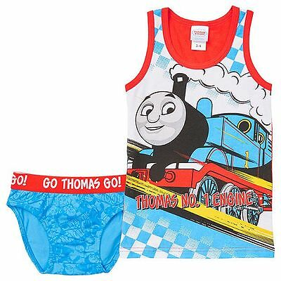 NEW Thomas & Friends 'Thomas No.1 Engine' Tank & Brief Set Kids Size 1-2