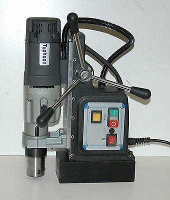 NEW BLUEROCK ® TOOLS Model TYPHOON 75 Magnetic Drill - Mag Drill TYP-75 NEW!