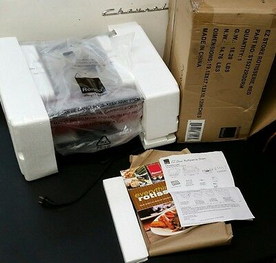 Ronco ST5272RDDRM EZ Store Rotisserie, Red R12080314 Free Shipping