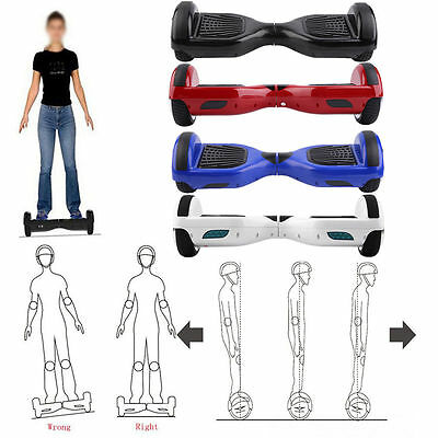 """6.5"""" 2Wheel Fusion Electric Self Balancing Scooter Hover Board Bluetooth Speaker"""