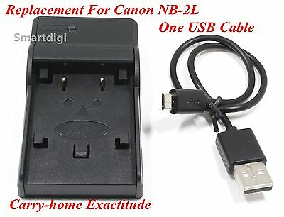 New USB Battery Charger for CANON NB-2L EOS 400D 350D SLR AU Seller