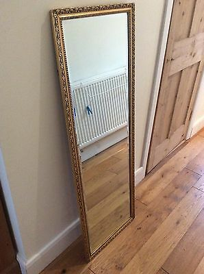 Gold, Tall Mirror Vintage Style