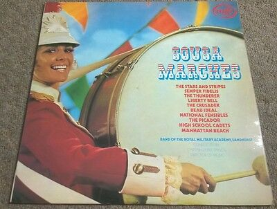 SOUSA MARCHES/Band of the royal military academy, sandhurst record/lp
