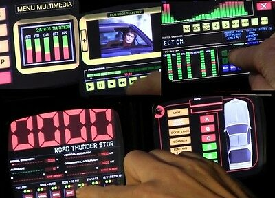KNIGHT2000 Thunder Voice Console ©  - The KITT Software for your Car Replica