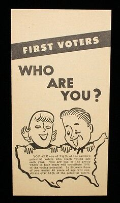 """""""First Voters Who Are You?"""" Young Republican National Federation Recruitment Ad"""