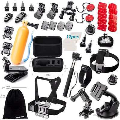 Accessories Kit for GoPro Hero 5 4 3Sports Camera Accessories-see the full list
