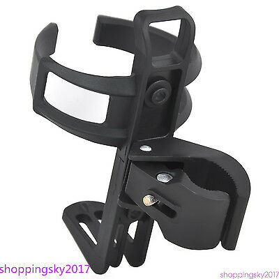 Black Sports Water Bottle Drinks Holder Carrier Cage Bike Bicycle Cycle Rack 313
