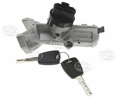 7 Pin Ignition Lock Barrel With 2 Keys For Peugeot Boxer 2002-2006 OEM 4162AL