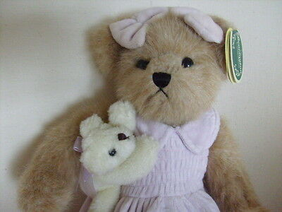 """14""""  BEARINGTON  Carrie  Bear and Teddy ideal for Mother's Day BNWT mothers"""