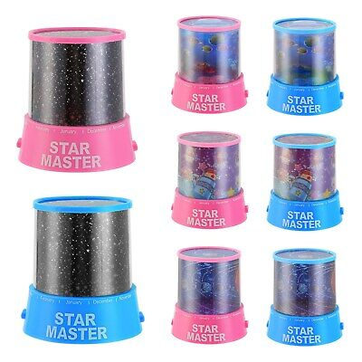 LED Star Light Starry Night Sky Projector Lamp Cosmos Projection Kids Child Gift