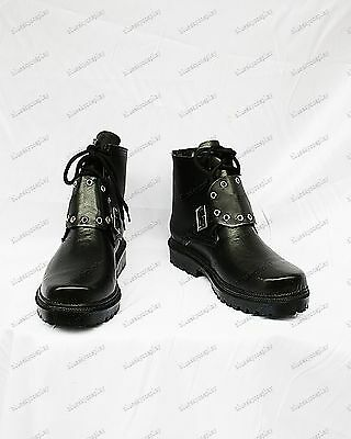 Final Fantasy VIII    Squall Leonhart  cosplay shoes boots Custom-Made 658 hot