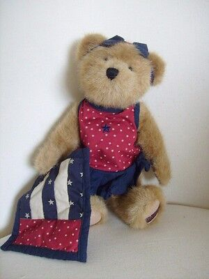 Boyds Katie Bear BNWT Mother's Day Liberty Independence 4 July USA Collectable