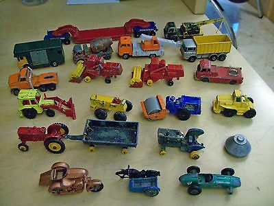 job lot of 20 die-cast vehicles for spares or repair