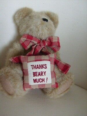 Boyds MERCI BEAR THANK YOU GIFT  ideal for Mother's Day BNWT mothers