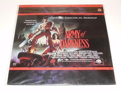 LaserDisc ~ Army of Darkness ~ Bruce Campbell ~ NTSC ~ Single Disc