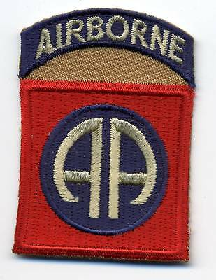 "Aufnäher Patch der 82nd AIRBORNE Division ""America's Guard of Honor"" der US Army"