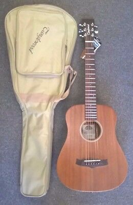 Tanglewood Winterleaf TW2T acoustic travel guitar, all mahogany,new with gigbag!