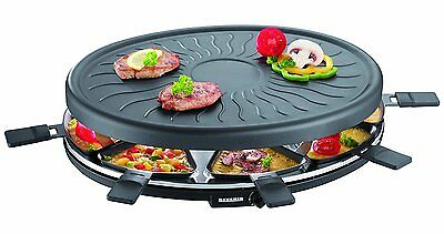 Severin Rg 2681 Raclette Heißer Raclett Party Grill Elektrogrill  8 Pers 1100 W