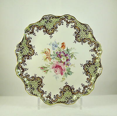 Royal Doulton Floral Sprays Cabinet Plate ca1930