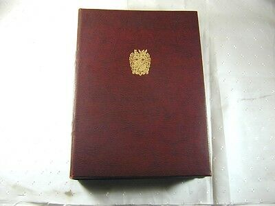 THE CHURCHILL CENTENARY TRUST OVER 19 ozs STERLING SILVER MEDAL COLLECTION ALBUM