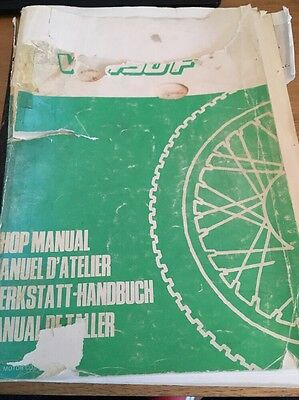 Honda VF750F Workshop Manual 1983